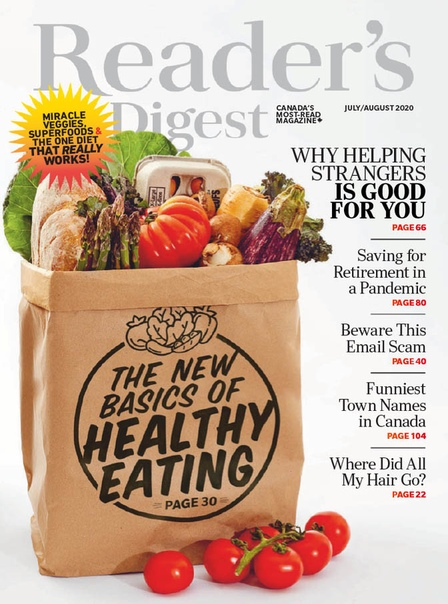 Readers Digest Canada - JulyAugust 2020
