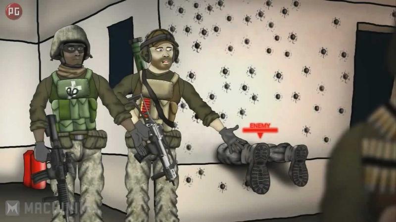 Друзья по Battlefield Подлый выстрел