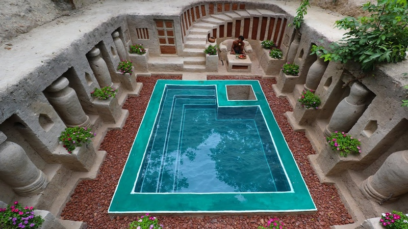 Unbelievable Build Most Amazing Simple Underground Temple Living of the King