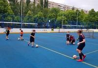 Фото с занятия школьных групп под руководством Макарова Ивана Владимировича.