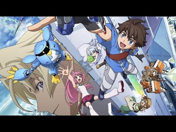 Обзор вселенной Gundam. Часть 14: Gundam Build Divers