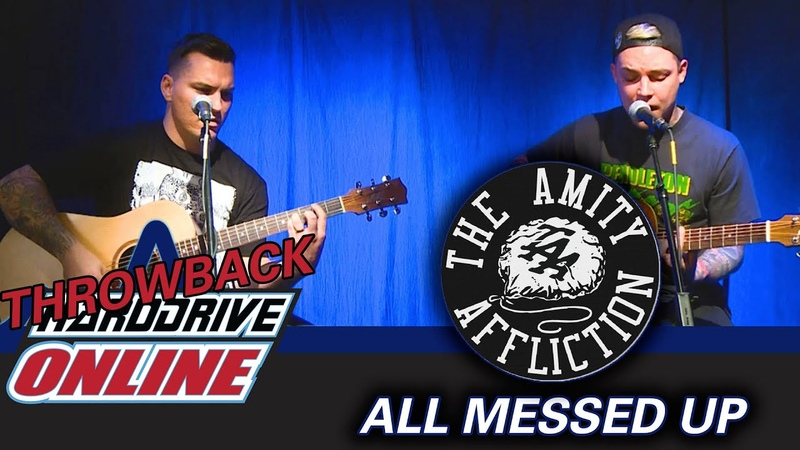 The Amity Affliction All Messed Up Live Acoustic HardDrive Online