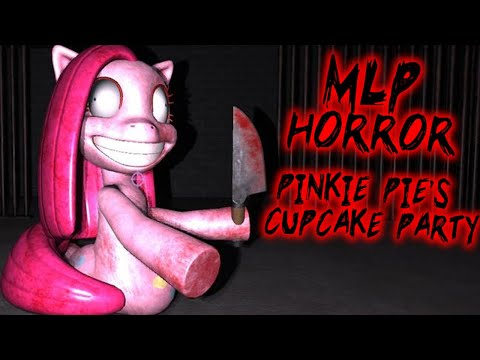 PINKIE PIES CUPCAKE PARTY Secret Glitch Ending My Little Pony 3D Horror Game