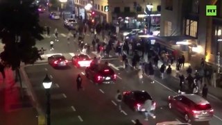Law & order? Police car drives into crowd in San Diego