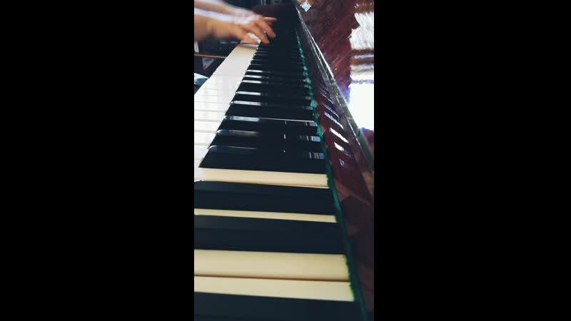 Эй вы там наверху Алла Пугачева кавер версия рояль без вокал
