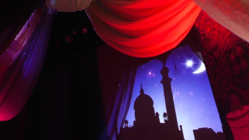 Закулисье мюзикла Новогодняя сказка Шахерезады