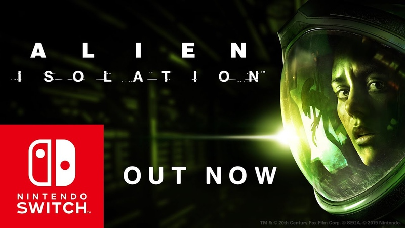 Alien: Isolation – Out now on Nintendo Switch