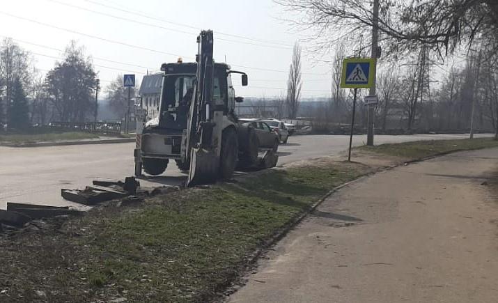 В Курске готовятся к ремонту дорог в рамках БКАД