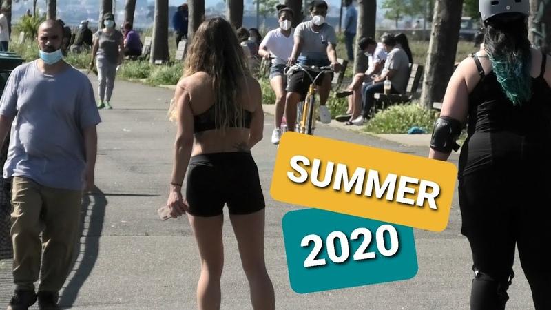 NEW YORK CITY MANHATTAN in JULY 2020