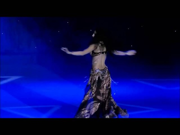 Sexy mesmerizing belly dance worship of Ishtar Innana Amira Abdi 2015