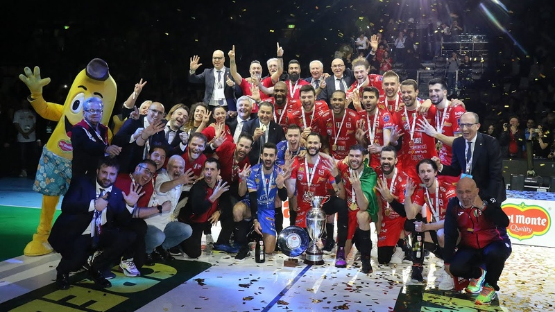 LUBE CIVITANOVA x SIR SAFETY PERUGIA FINAL Coppa Italia 2020 23 02 20