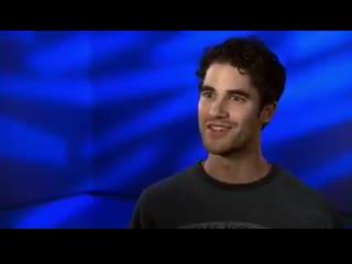 A Sneak Peek of Darren Criss in Superman Man Of Tomorrow - - Darren edit -