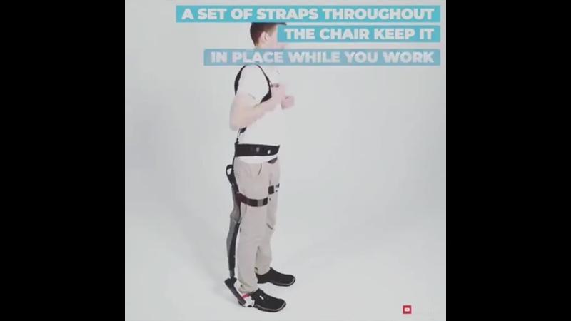 удобные эргономичные сиденья пристегиваются прямо к телу onto