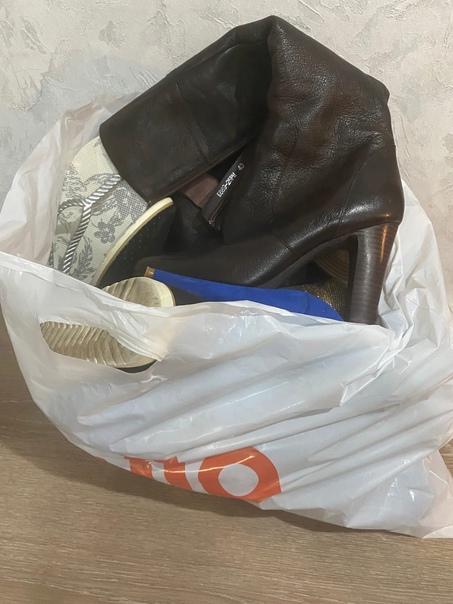 Большой пакет обуви женской 39 размер Все в хороше...