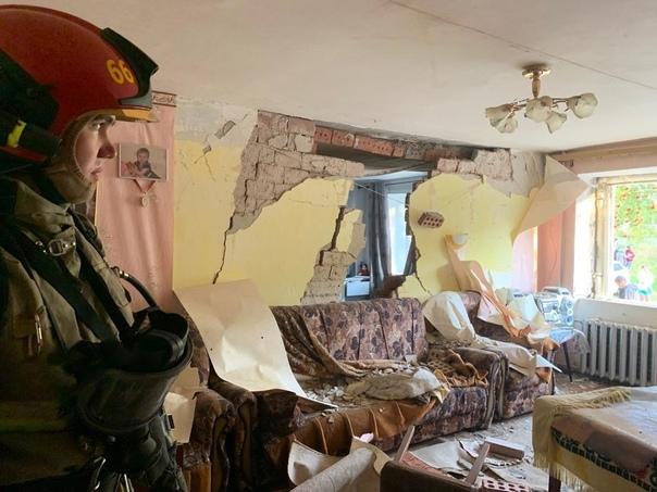 В Верхней Пышме взорвался газ в жилом доме.По пред...