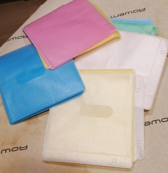 Отдам даром. Пластиковые конверты для дисков. Мног...