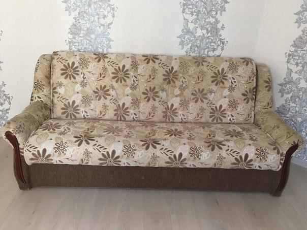 Отдам диван 185*125. Длина дивана с подлокотниками...