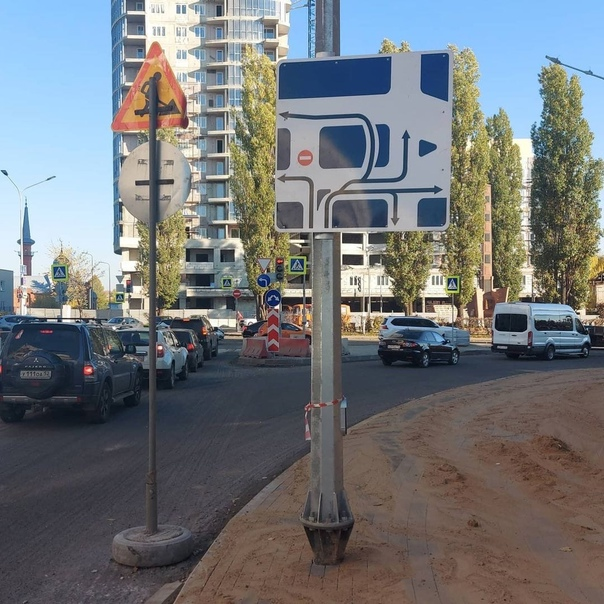На Сенной площади разрешили левый поворот с улицы Минина ...