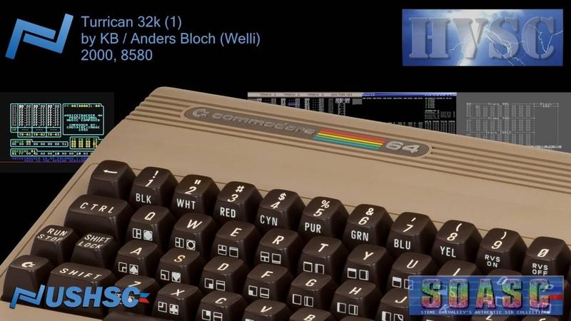 Turrican 32k (1) - KB Anders Bloch (Welli) - (2000) - C64 chiptune