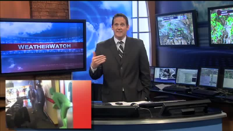 Weatherman gets pranked on April Fool's