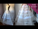 MAKING A PANEL BALL GOWN PETTICOAT SKIRT
