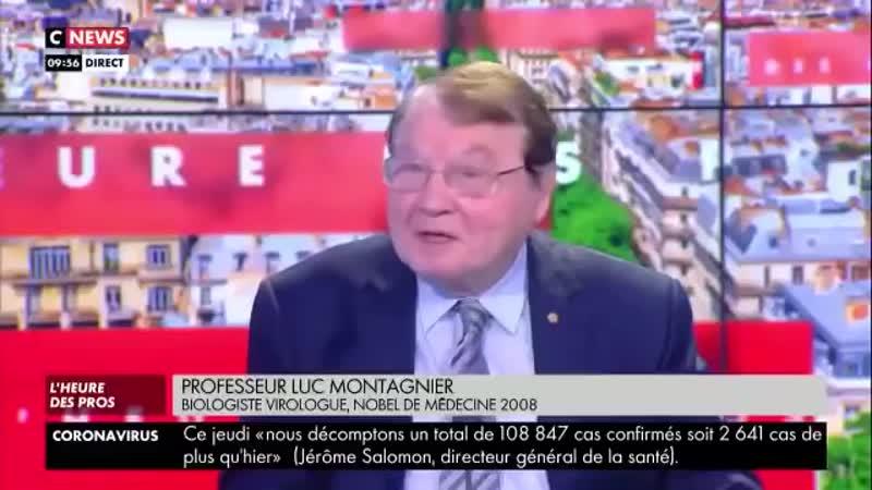 Luc Montagnier prix Nobel controversé accuse des biologistes d'avoir créé le