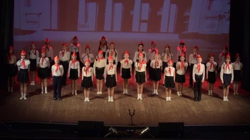 Торезский театр танца 3Т Постановка Пионеры Архив 2018 г