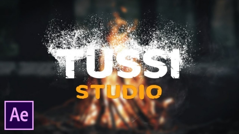 After Effects Tutorial Particles Logo and Text Animation