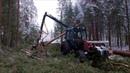 MTZ 82 harvester