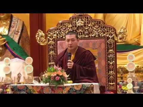 Создание фундамента Дхармы часть 1 Гьялва Кармапа XVII