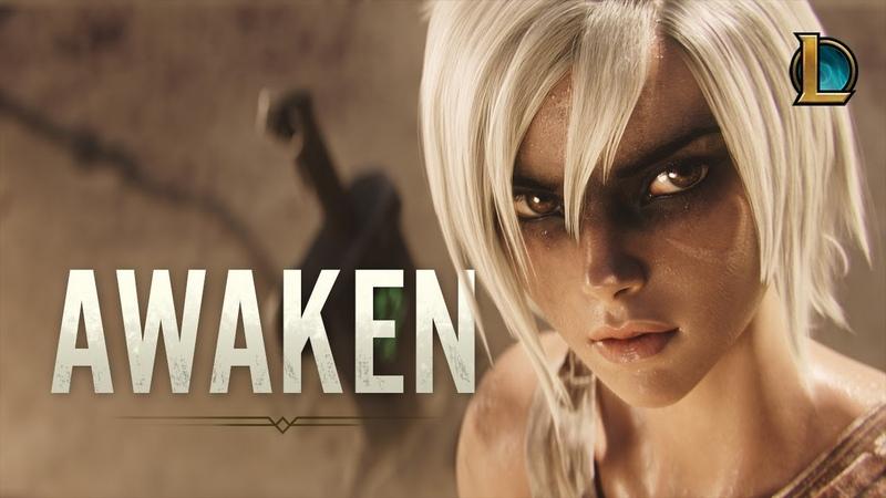 Awaken ft Valerie Broussard Season 2019 Cinematic League of Legends