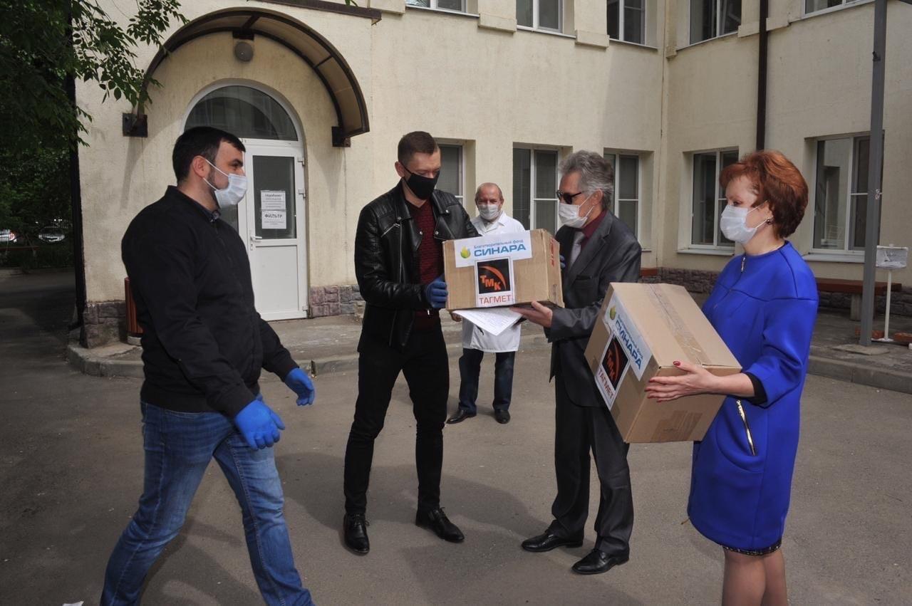 Бизнесмены помогают медучреждениям Таганрога
