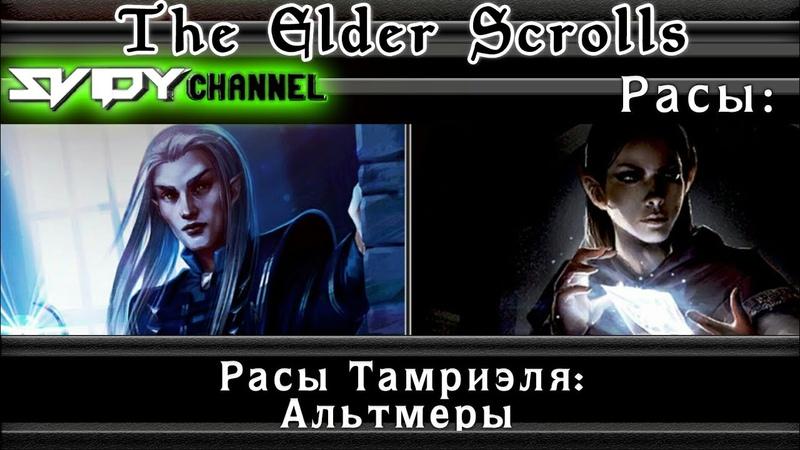 The Elder Scrolls Расы Тамриэля Альтмеры Лор