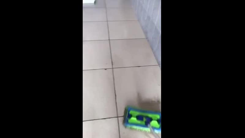 Швабра Aquamatic Mop как пылесос