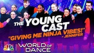 Junior Team The Young Cast Dances to