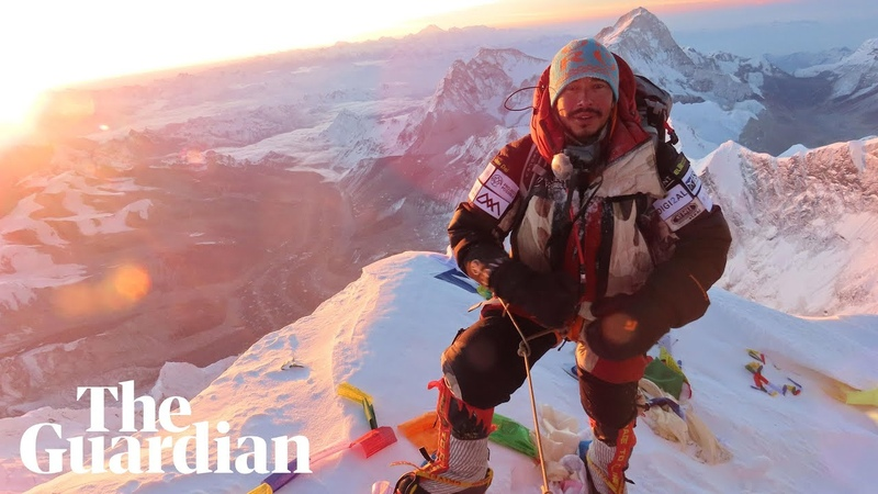 Nirmal Purja climbs world's 14 highest peaks in record breaking 189 days