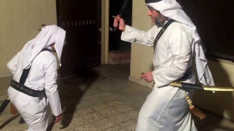 PFS Arab Swords Combat السيف العربي الخليجي مهارات