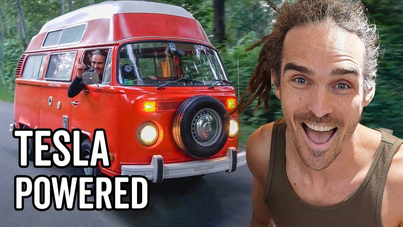 How I Built An Electric Tesla Powered Classic VW Bus