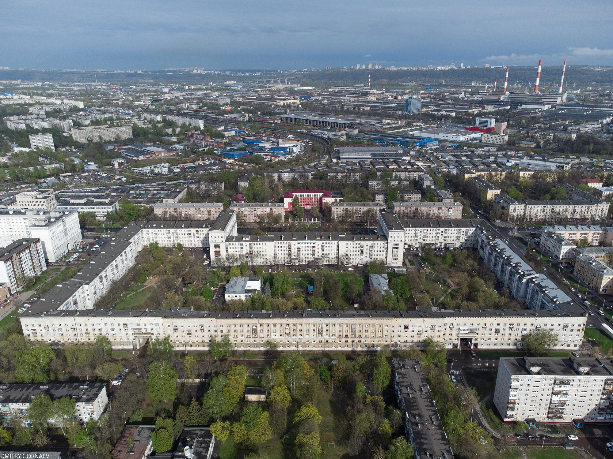 Серобусыгинский дом-квартал в Нижнем Новгороде - Фото