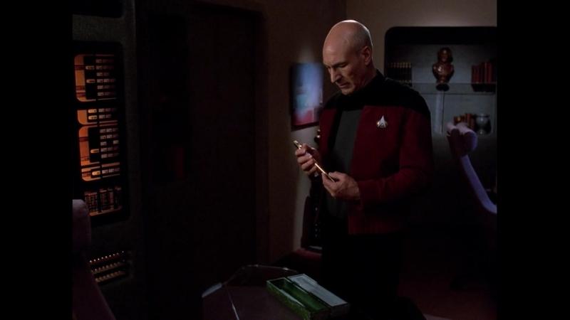 Звёздный путь Следующее поколение Внутренний свет Star Trek The Next Generation The Inner Light SD