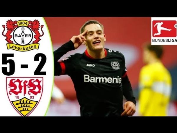 🔴LIVE Bayer Leverkusen Vs Stuttgart 5 2 Extended Highlights All Goals 2021 HD