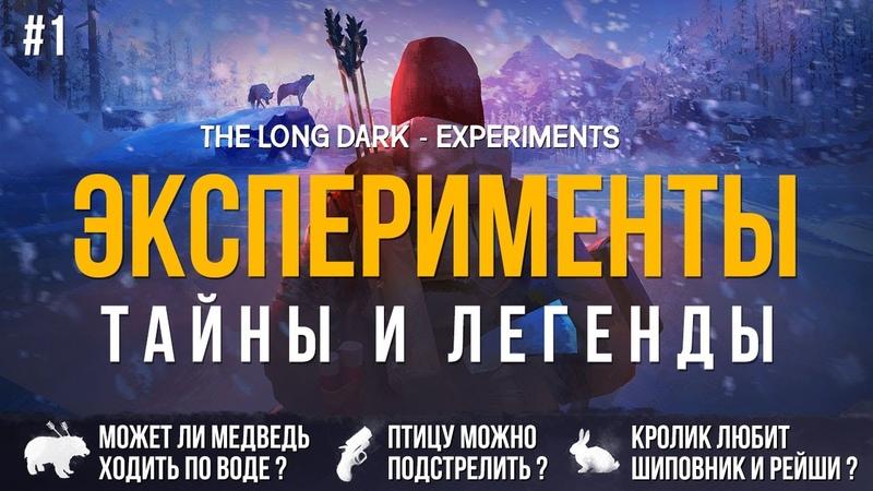 ЭКСПЕРИМЕНТЫ, ТАЙНЫ И ЛЕГЕНДЫ ► THE LONG DARK 1