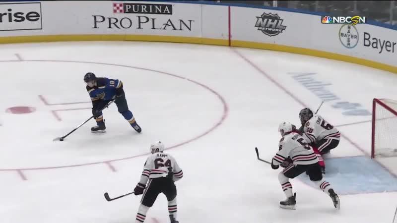 NHL Highlights   Blackhawks vs. Blues – Feb. 25, 2020