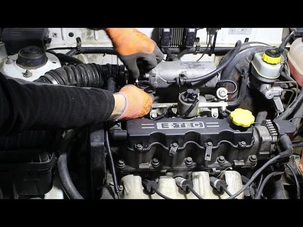 Замена тросика газа на Chevrolet Lanos Шевроле Ланос 2006 года
