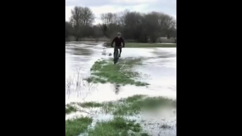 Я буду долго гнать велосипед на самом дне его остановлю 🤣