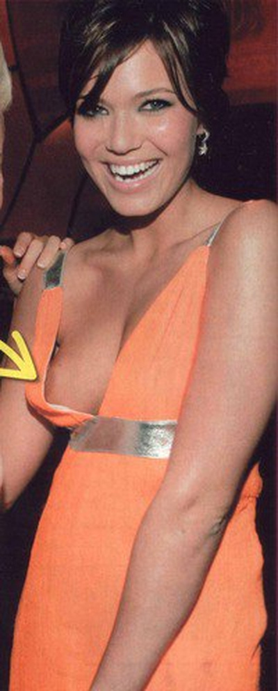 Mandy Moore Topless