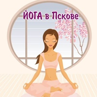 """Логотип Йога и медитация в Пскове. Студия йоги """"Кошка"""""""