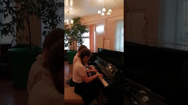 Жирихина Марина и Фалевская Евгения В Гаврилин Одинокая гармонь