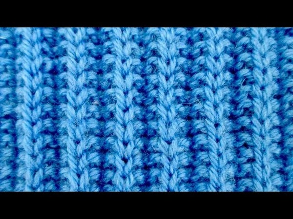 Узоры спицами Резинка Патронная лента