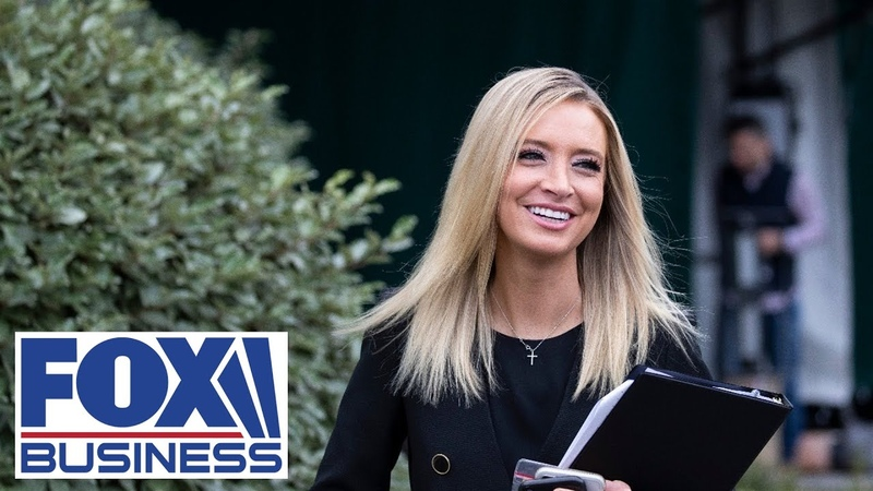 Kayleigh McEnany holds a press briefing at White House 7 13 20
